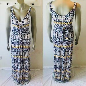 Rachel Pally Sleeveless Kaftan Long Maxi Dress